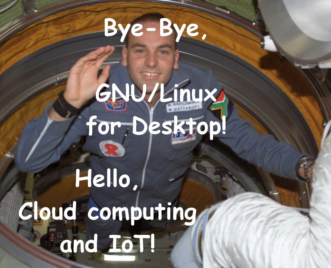 Mark Shuttleworth : Au revoir Ubuntu GNU/Linux pour le bureau, les téléphones et tablettes ! Bonjour à l'informatique dans les nuages et à l'Internet des objets !