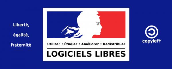 Logiciels Libres pour Toutes et Tous : Utiliser, Étudier, Améliorer, Redistribuer   Copyleft (ↄ)