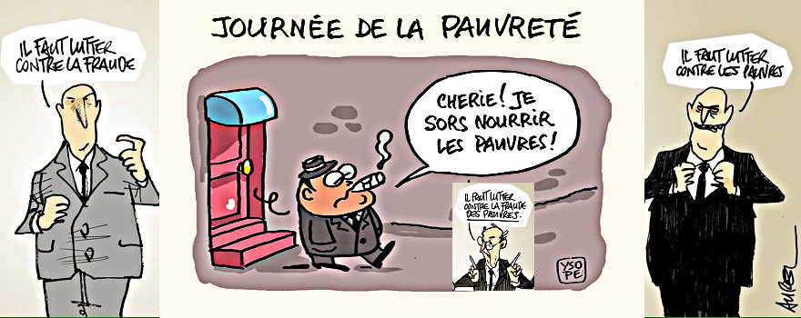 Décembre 2016 - La France compte entre 5 et 8,8 millions de pauvres selon la définition adoptée. Entre 2004 et 2014, le nombre de personnes concernées a augmenté d'un million, principalement sous l'effet de la progression du chômage. Un changement majeur dans notre histoire sociale.
