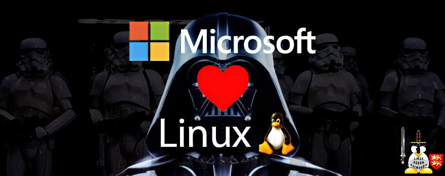 Big Brother MICROSOFT aime-rait Linux et l'Open source ? Oui, quand les poules auront des dents !