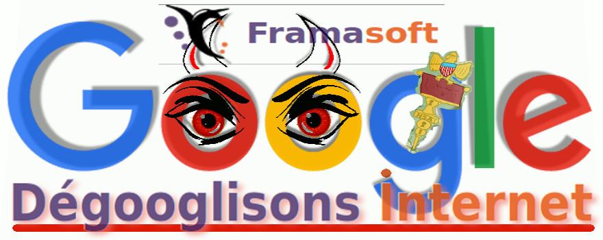 Dégooglisons Internet : Les services en ligne toujours plus centralisés de géants tentaculaires comme Google, Amazon, Facebook, Apple et Microsoft (les GAFAM) mettent en danger nos vies numériques. Réagissons avec l'association Framasoft !