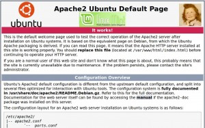 Serveur APACHE 2.4 | Linux Mint 17.2 LTS
