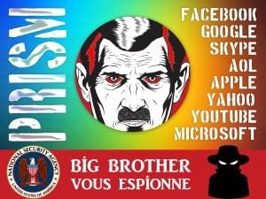 BIG BROTHERS : Les infâmes GAFAM, avec le concours de la NSA, vous espionnent et siphonnent vos données privées ainsi que les caisses des États !