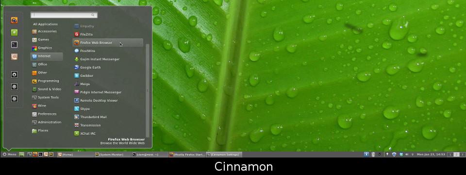 Linux mint 17 2 rafaela bureau cinnamon 2 linux rouen normandie libriste - Environnement bureau linux ...