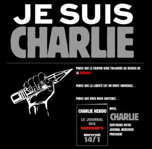 Je suis Charlie — Nous sommes tous Charlie |Pour la liberté d'expression et contre les Barbares sanglants