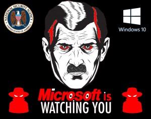 MICROSOFT vous regarde, vous écoute et vous espionne !