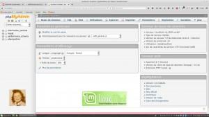 Outil d'administration Web phpMyAdmin 4.0 | Linux Mint 17.2 LTS