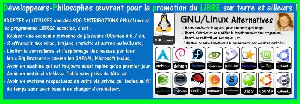 GNU/Linux | Développeurs-Philosophes du Logiciel Libre