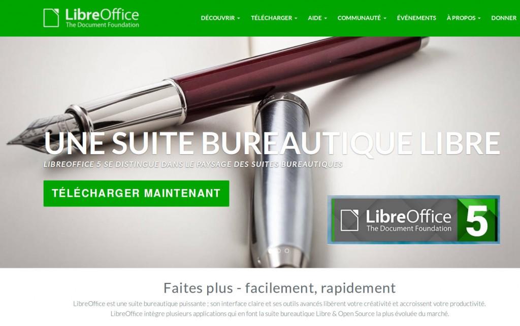 LibreOffice 5 - l'un des projets les plus sympathiques et les plus dynamiques dans le monde du logiciel libre et open source.