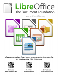 LibreOffice - THE Document Foundation sheet
