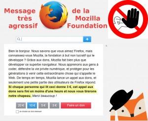 Mozilla Foundation : NON aux financements des salaires mirobolants des dirigeants et aux achats d'anciens hôtels, monuments historiques !