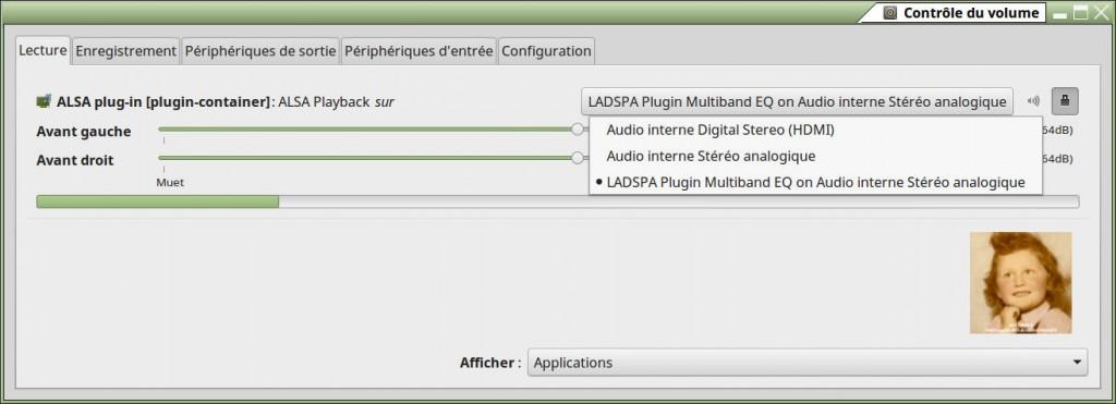 Linux Mint 17.3 | LADSPA EQ et ALSA plugins