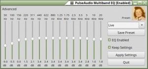PulseAudio Equalizer | Linux Mint - Ubuntu - xBuntu - Variantes