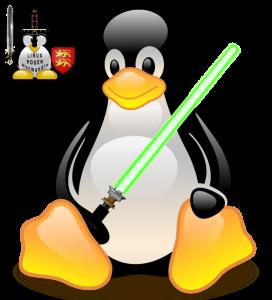 Tous derrière Tux ! Que la Force lumineuse de Linux et du Logiciel Libre soit avec nous, pour toujours !