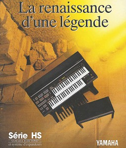 Yamaha orgues Electone série HS et système d'expandeurs MIDI | La renaissance d'une légende