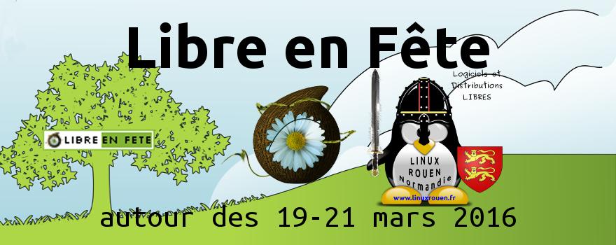 Découvrez le Logiciel Libre partout en France autour des 19-21 mars 2016 !
