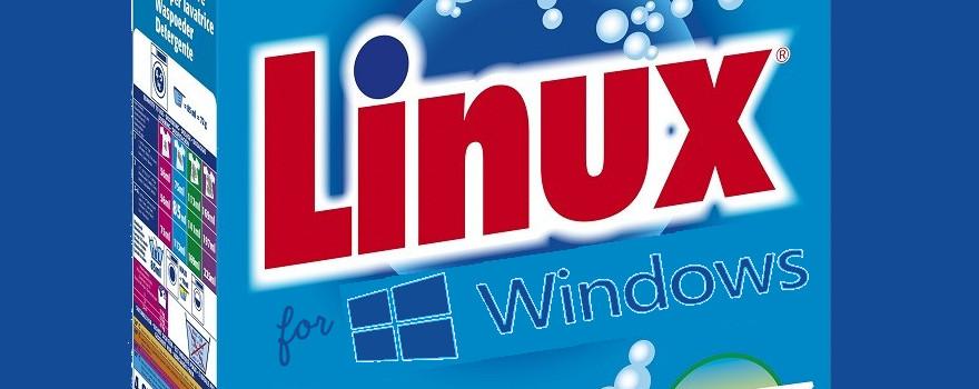 LINUX : Lessive universelle pour laver et nettoyer en profondeur tous les Big Brothers, Windows inclus