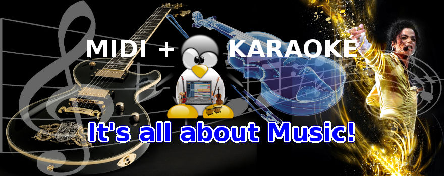 GNU/Linux + MIDI + Karaoké = It's all about Music!