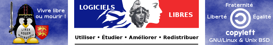 LINUX ♥ ROUEN ♥ Normandie | L'Informatique ♥ Libre (76)