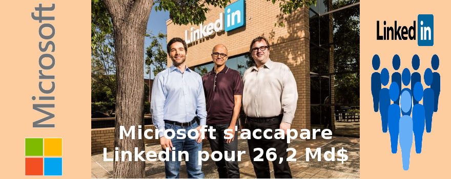 Bienvenue dans le monde de Big Brother : Microsoft se paie Linkedin et vos données professionnelles avec !