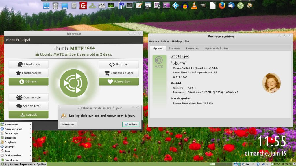 Ubuntu MATE 16.04 LTS : Mise à niveau du Bureau vers MATE 1.14.1
