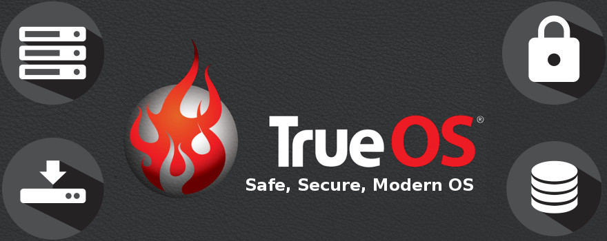 """TrueOS """"unifié"""" a pour objectif d'être un système d'exploitation de bureau, de serveur et de système embarqué, en publication continue, facile à installer et basé sur FreeBSD, maintenant sa branche """"current""""."""