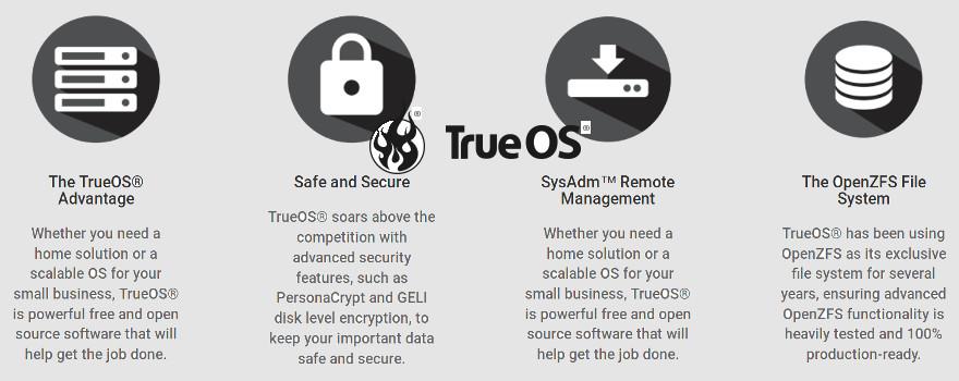 """TrueOS """"unifié"""" : Un OS moderne, sûr et sécurisé avec la fiabilité d'OpenZFS"""