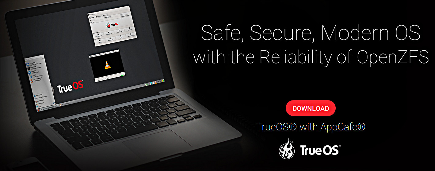 PC-BSD devient TrueOS, PC-BSD est mort. Vive TrueOS !