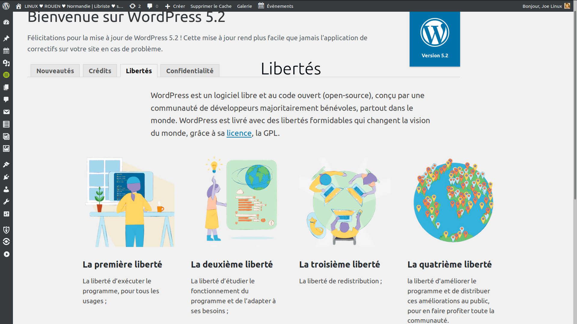 rencontres en ligne agendas WordPress